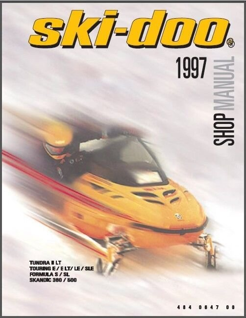 1997 Ski-Doo Tundra Touring Formula Scandic Service Repair Shop Manual CD