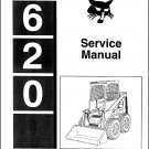 Bobcat 620 Skid Steer Loader Service Manual CD