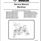 Bobcat Backhoe Service Repair Manual on a CD