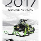 2017 Arctic Cat Bearcat / Lynx 2000 3000 7000 Snowmobile Service Manual CD