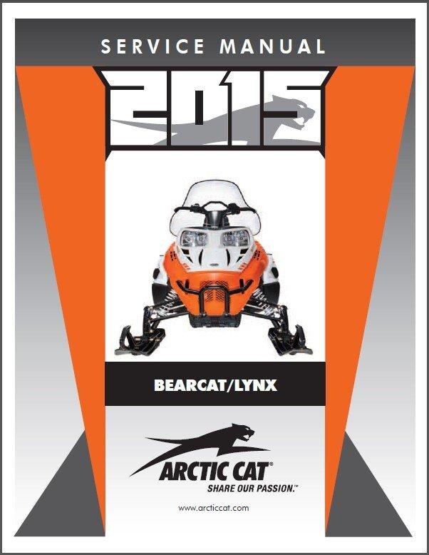 2015 Arctic Cat Bearcat Lynx 2000 5000 Snowmobile border=