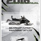 2016 Arctic Cat Bearcat / Lynx / Pantera Snowmobiles Service Manual CD