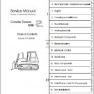 LIEBHERR PR 712 733 732 742 752 Crawler Dosers Service Manual CD