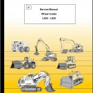 LIEBHERR L504 L506 L507 L508 L509 L512 L522 Wheel Loaders Service Manual CD