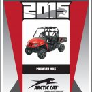 2015 Arctic Cat Prowler HDX UTV Service Repair Workshop Manual CD