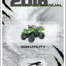 2016 Arctic Cat 300 Utility ATV Service Repair Workshop Manual CD