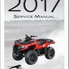 2017 Arctic Cat Alterra 400 ATV Service Manual CD