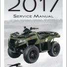2017 Arctic Cat Alterra 500 ATV Service Manual CD