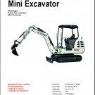 Terex TC29 Excavator Parts Manual CD - in English Deutsch Français Español