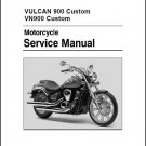 2007-2015 Kawasaki VN900 Vulcan 900 Custom Service Manual CD