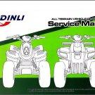 Dinli DL-601 T-Rex / DL-603 Helix ATV Quad Service Repair Workshop Manual CD