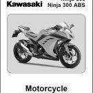 2013-2015 Kawasaki Ninja 300 ABS Service Repair Workshop Manual CD