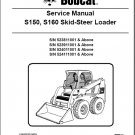Bobcat S150 / S160 Skid Steer Loader Service Manual CD --- S 150 160