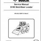 Bobcat S150 Skid Steer Loader Service Manual CD --- S 150