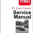Toro XL Lawn & Garden Tractor Repair Service Manual CD -- 12-38 16-38 15-44 XHL