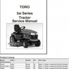 Toro 518xi 520xi 522xi 520Lxi 523Dxi Lawn Tractor Repair Service Manual CD - 5xi