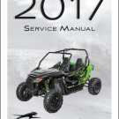 2017 Arctic Cat Wildcat Sport Service Manual on a CD