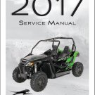 2017 Arctic Cat Wildcat Trail Service Manual on a CD
