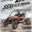 2018 Arctic Cat Wildcat Sport Service Manual on a CD