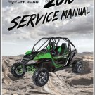 2018 Arctic Cat Wildcat X / Wildcat 4X Service Manual on a CD