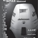 Johnson 4 - 5 - 6 HP 4-Stroke Outboard Motor Service Repair Manual CD