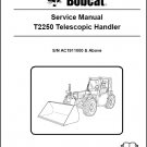 Bobcat T2250 Telescopic Handler Service Manual on a CD -- T 2250