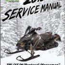 2018 Arctic Cat ZR XF M Pantera Norseman 4-Stroke Snowmobiles Service Manual CD