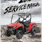 2018 Arctic Cat Prowler 500 UTV Service Manual on a CD