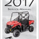 2017 Arctic Cat Prowler 500 UTV Service Manual on a CD
