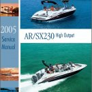 Yamaha AR230 / SX230 Jet Boat / Sport Boat Service Manual CD --- AR SX 230