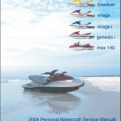 2004 Polaris Freedom, Virage, Virage i, Genesis i, MSX 140 PWC Service Manual CD