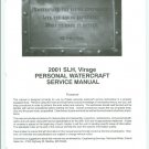 2001 Polaris SLH / Virage Personal Watercraft ( PWC ) Service Manual CD