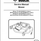 Bobcat Mower / Finish Mower Service Manual on a CD