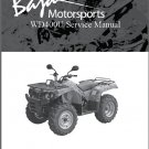 Baja Wilderness Trail 400 ( WD400-U ) Service Repair Manual on a CD
