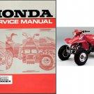 1993-2000 Honda TRX300EX Fourtrax Service Repair Manual CD - TRX 300 EX