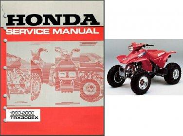 Honda 300 manual ex