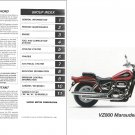 1997-2003 Suzuki VZ800 Marauder 800 Service & Parts Manual on a CD