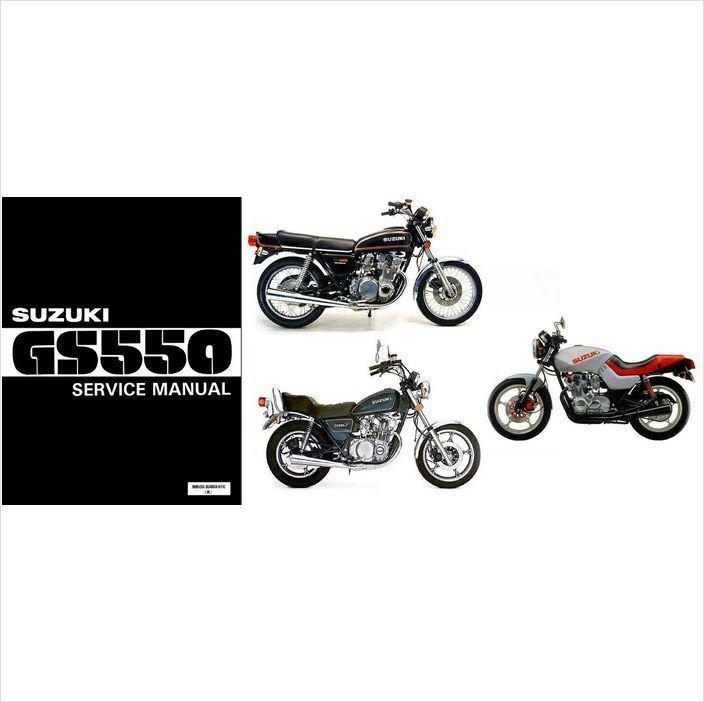 77-86 Suzuki GS550 Service Repair Manual CD .... GS 550 GS550E E L T MZ LT TX