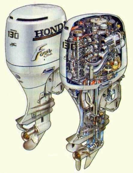 Honda BF115A / BF130A Outboard Motor Service Repair Manual CD ---- BF 115 130 A