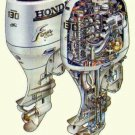 Honda BF115A / BF130A Outboard Motor Service Repair Manual CD ---- BF 115 130 A