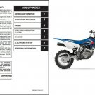 2003-2009 Suzuki DR-Z125 (DR-Z125/L) Service Manual CD