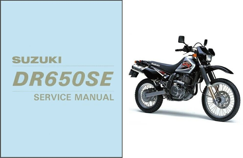 1996-2009 Suzuki DR650SE Repair Service Manual CD -- DR650 DR 650 SE