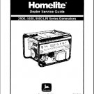 Homelite 2500 4400 5500 Generator Service Repair Manual CD