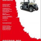 Hisun Sector 250 (S250UTV-2/HS200UTV-2) UTV Service Manual CD