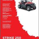 Hisun Strike 250 / 200 ( HS250UTV / HS200UTV ) UTV Service Manual CD
