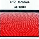 Honda CB1300 (CB1300F3) Service Repair Shop Manual on a CD - CB 1300