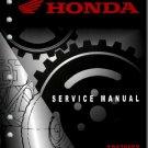 2008-2009 Honda TRX700XX Service Repair Shop Manual on a CD - TRX 700
