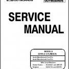 Mercury / Mariner 30 / 40 2-Cyl 2-Stroke Outboard Motors Service Manual on a CD