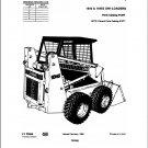 Case 1845 & 1845S Skid Steer Loader Parts Manual on a CD