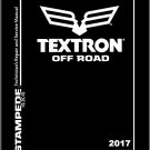 2017-2018 Textron Off Road (Arctic Cat) Stampede 900 4X4 ATV Service Manual CD